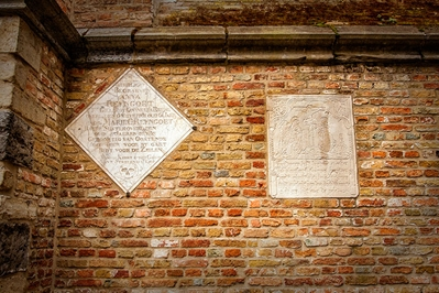 St. Salvators Cathedral Tablets