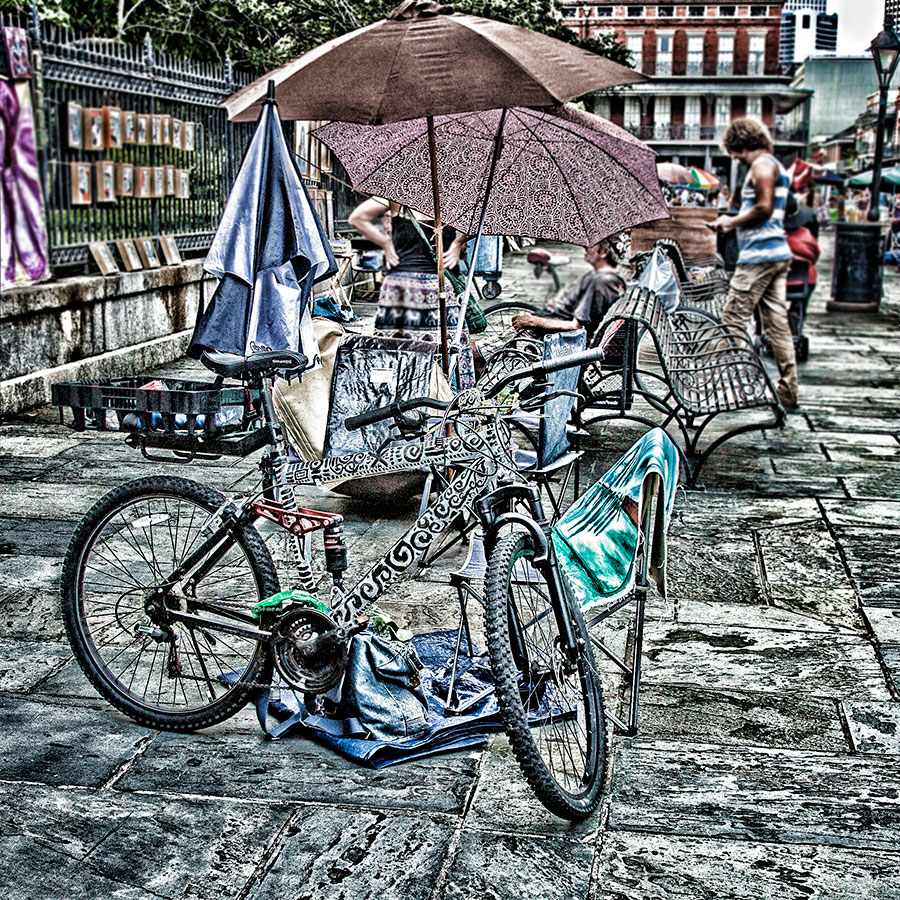 Howard barlow fine art photography new orleans bikes for Craft store new orleans